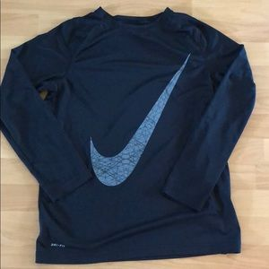 Nike Dri-fit long sleeve tee Youth XL
